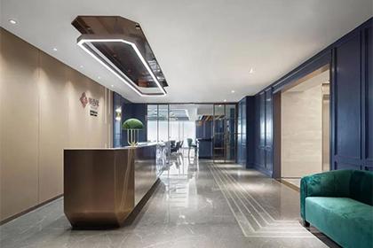家装现代风格,蓝色西境,重构古典与现代的优雅会所